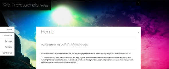 View Information about WB Professionals
