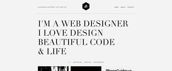 View Information about Web Designer / Alexander Almström