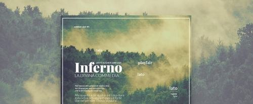 View Information about Web Font In Pair Poster Design