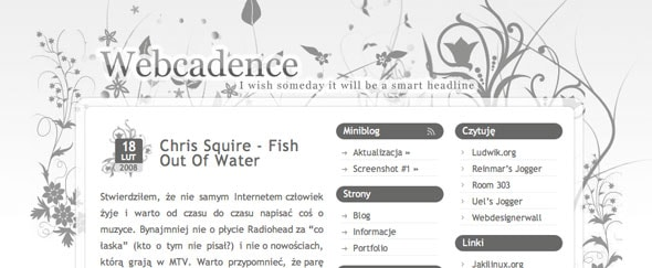 View Information about Webcadence