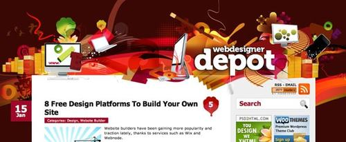View Information about Web Designer Depot