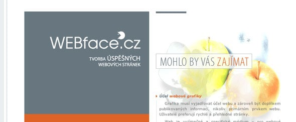 View Information about WEBface.cz