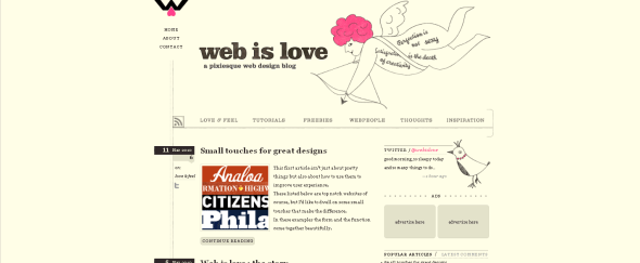 View Information about Web is Love