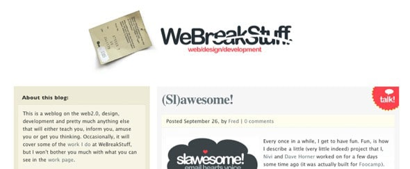 View Information about WeBreakStuff
