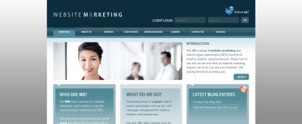 View Information about Website Marketing