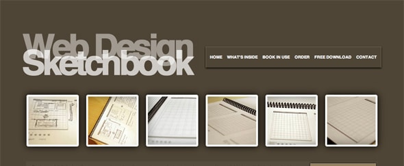 View Information about Web Design Sketchbook