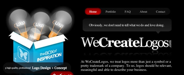 View Information about We Create Logos