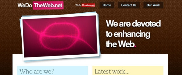 View Information about We Do The Web