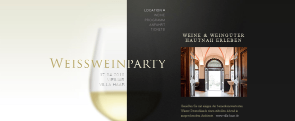 View Information about Weisswein Party