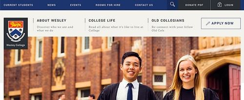 View Information about Wesley College