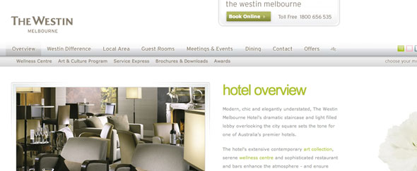 View Information about Westin