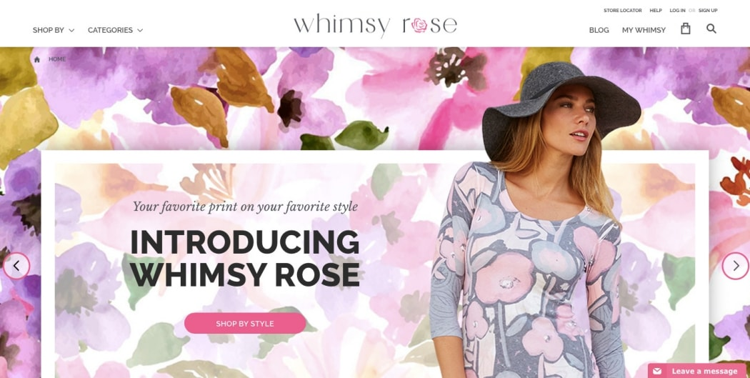 Go To Whimsy Rose