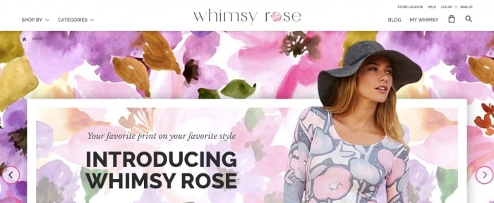View Information about Whimsy Rose