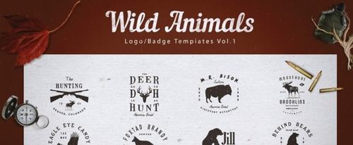 View Information about Wild Animals Logos & Badges