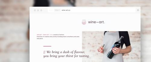 View Information about wine—art