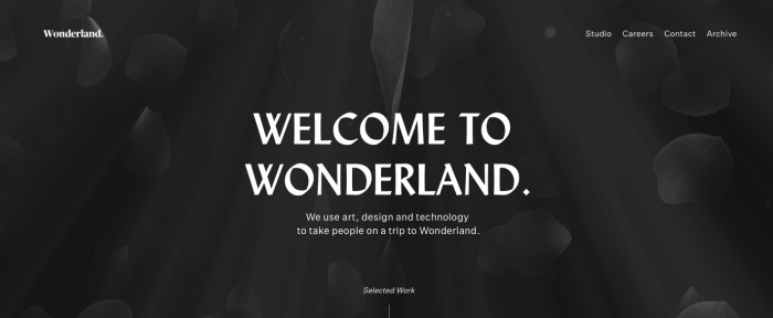 View Information about Wonderland