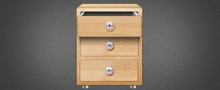 View Information about Wooden Drawer Icon