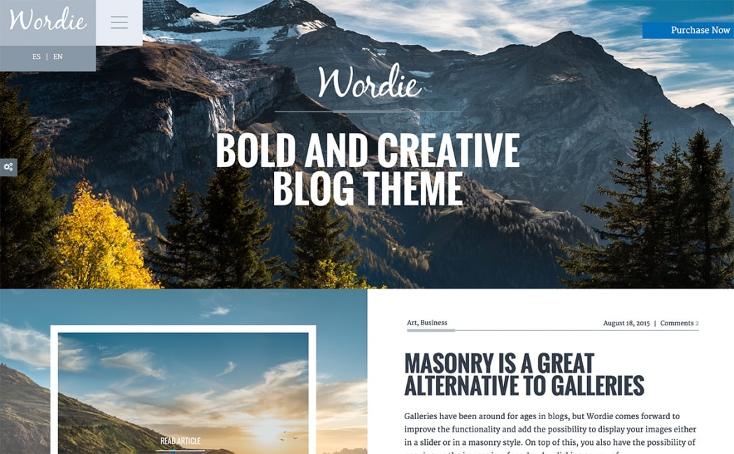 Go To Wordie Theme