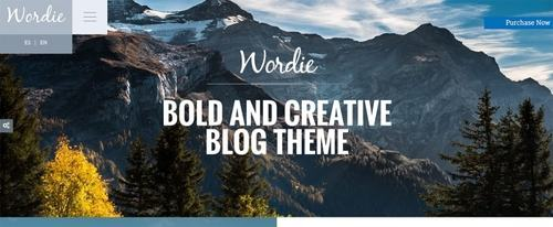 View Information about Wordie Theme
