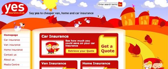View Information about Yes Insurance