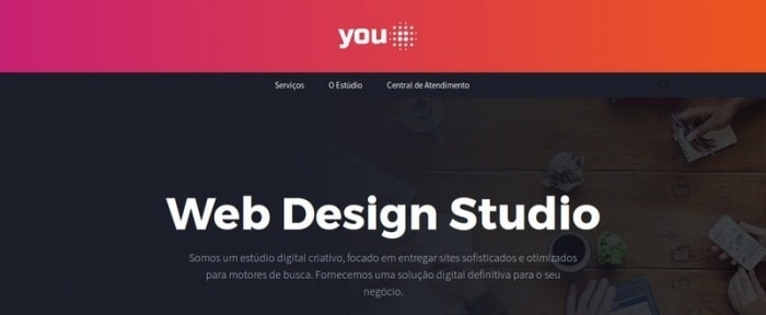 View Information about YouON - Web Design