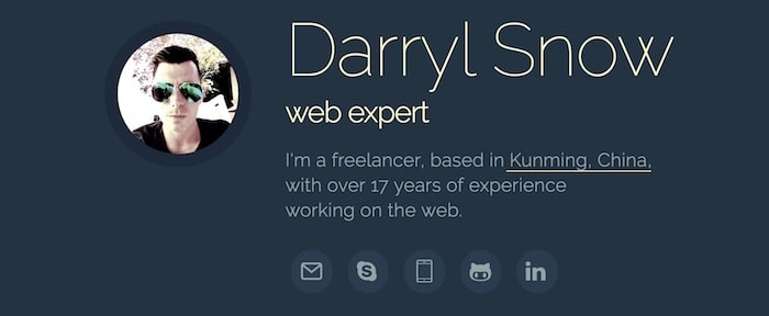 View Information about Your Web Expert