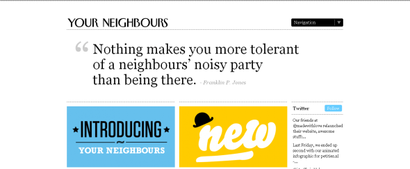 View Information about Your Neighbours