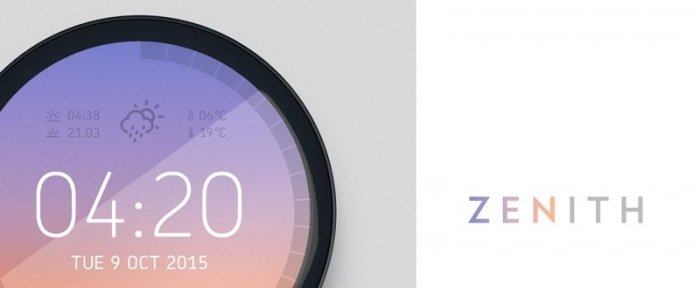 Go To Zenith | Weather Clock