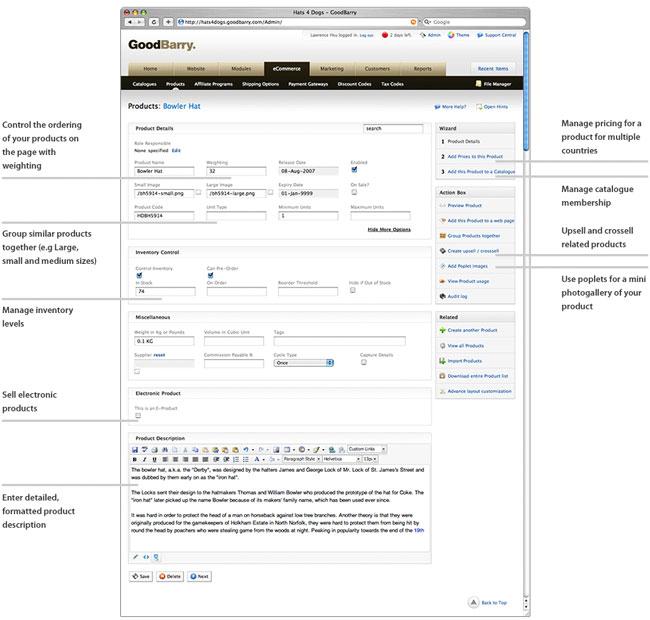 GoodBarry e-Commerce