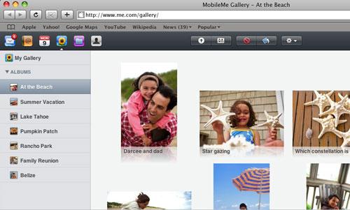 Mobile Me Photos