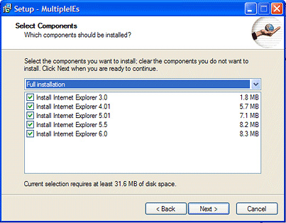 Multiple IE