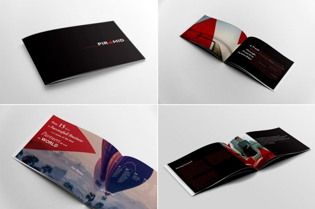 70 Modern Corporate Brochure Templates – Business Pamphlet Templates