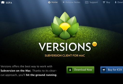Versions App for Mac Subversion frontend GUI