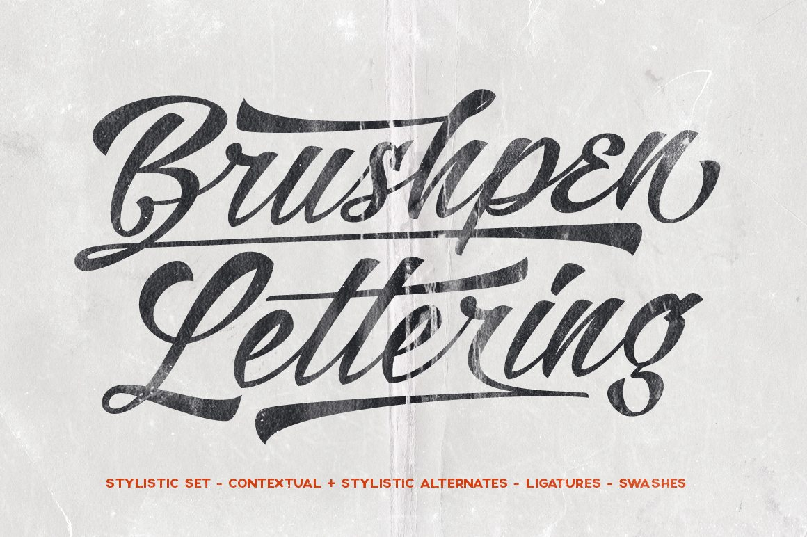 100 Beautiful Script Brush Calligraphy Fonts Design