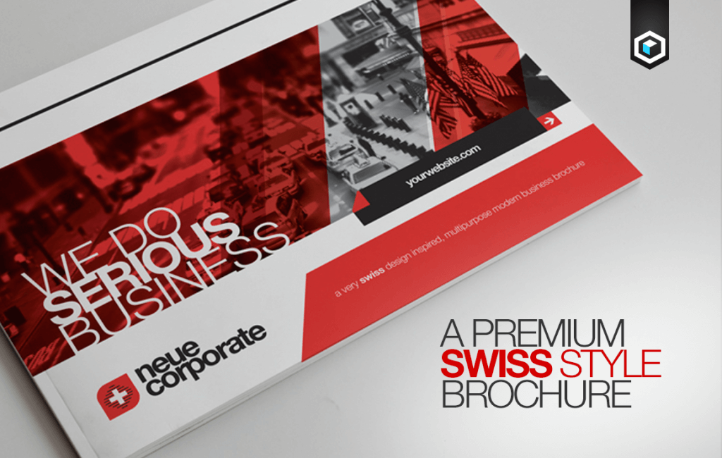 Bien connu 70+ Modern Corporate Brochure Templates | Design Shack DB04