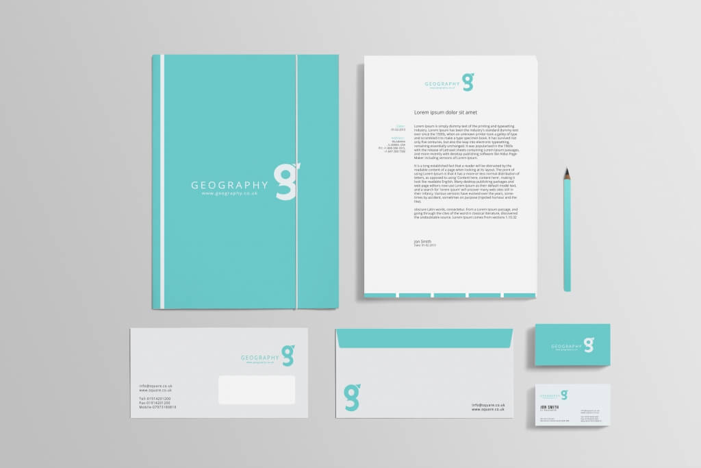 80 Modern Stationery Templates
