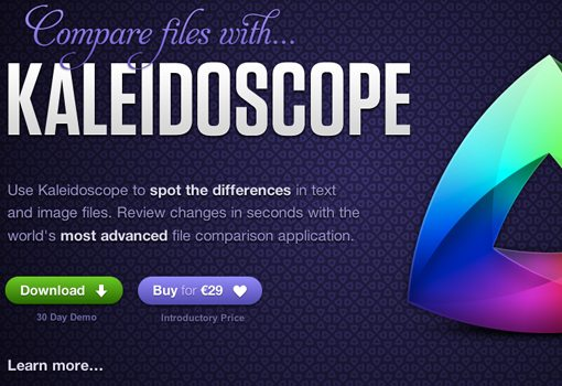 Kaleidoscope app