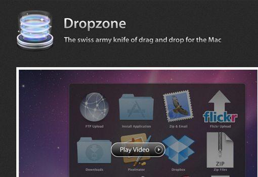 Aptonic Software app Dropzone