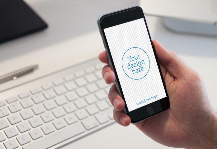 1-115 100+ iPhone PSD & Vector Mockups design tips
