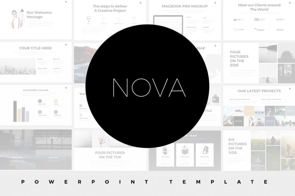 15+ minimal powerpoint templates | design shack, Modern powerpoint
