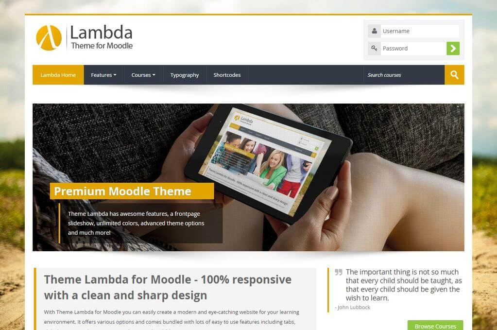 1-44 15+ Best Moodle Themes of 2019 design tips