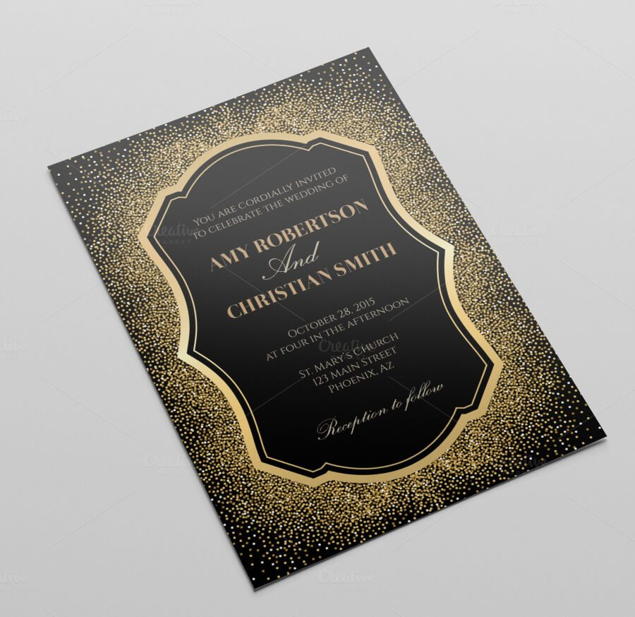 Sample Wedding Invitation Templates as perfect invitation example