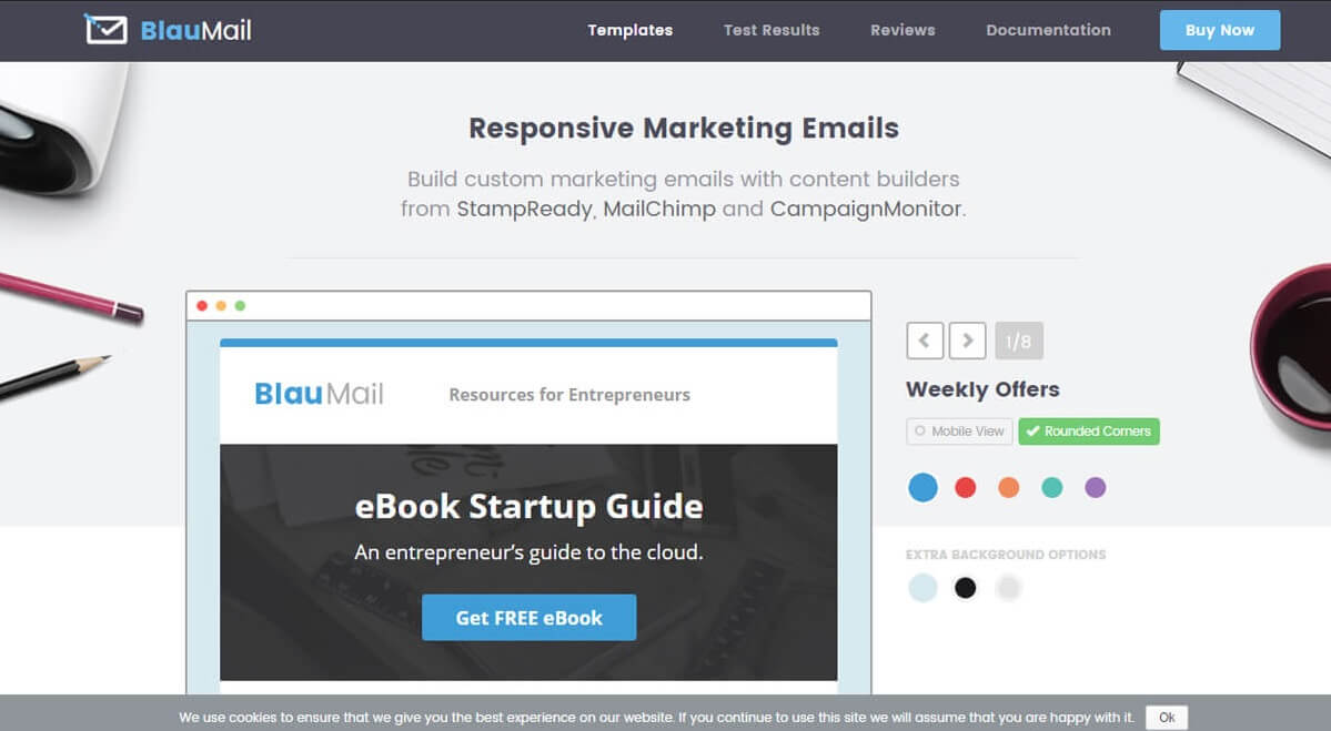 1-50-1 25+ Modern Responsive Email Templates design tips