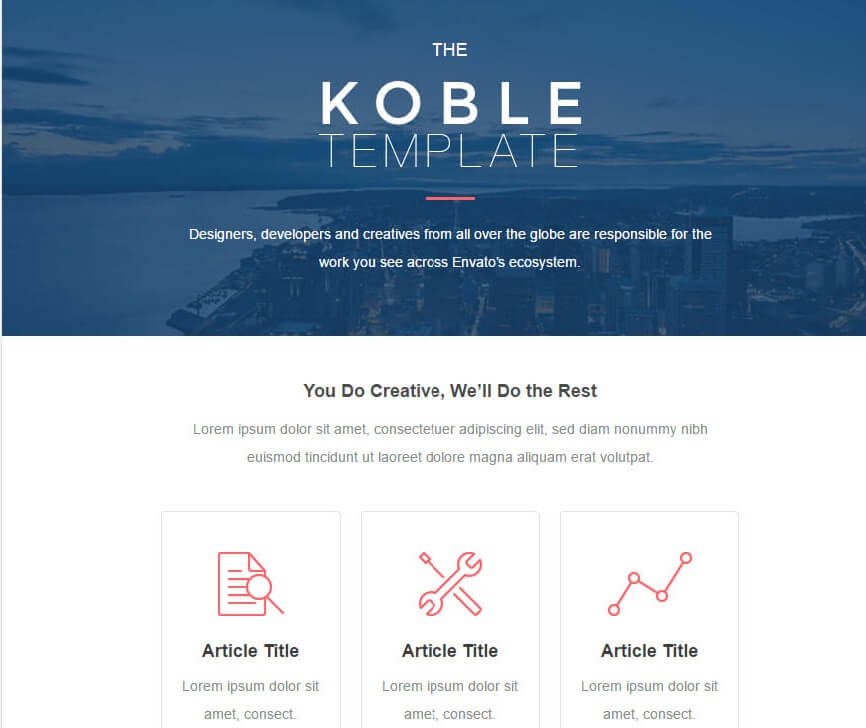 1-52-1 25+ Modern Responsive Email Templates design tips