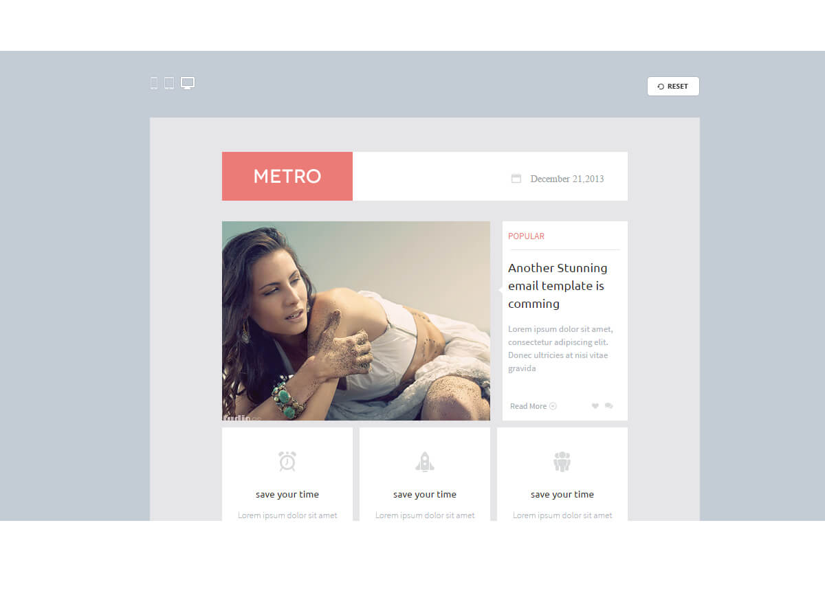 1-57 40+ Modern Responsive Email Templates 2021 design tips
