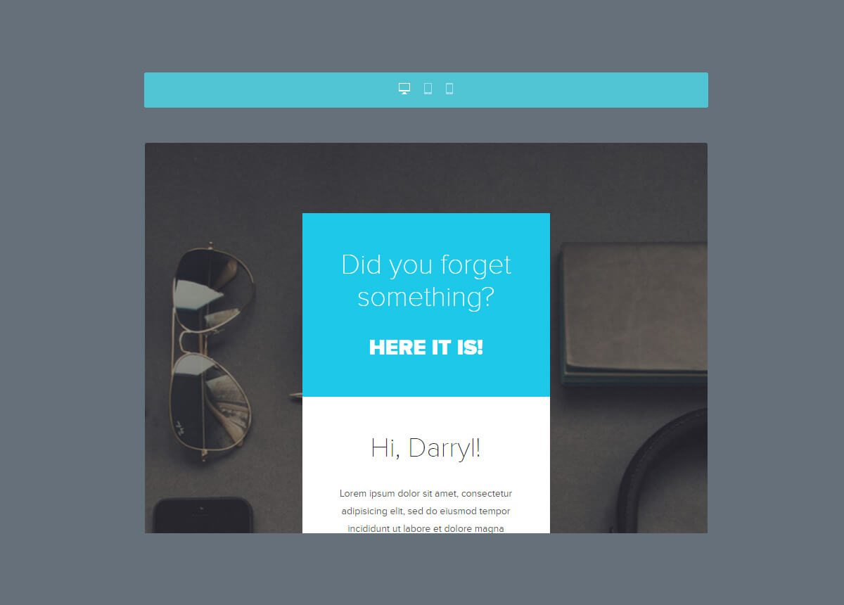1-59 25+ Modern Responsive Email Templates design tips