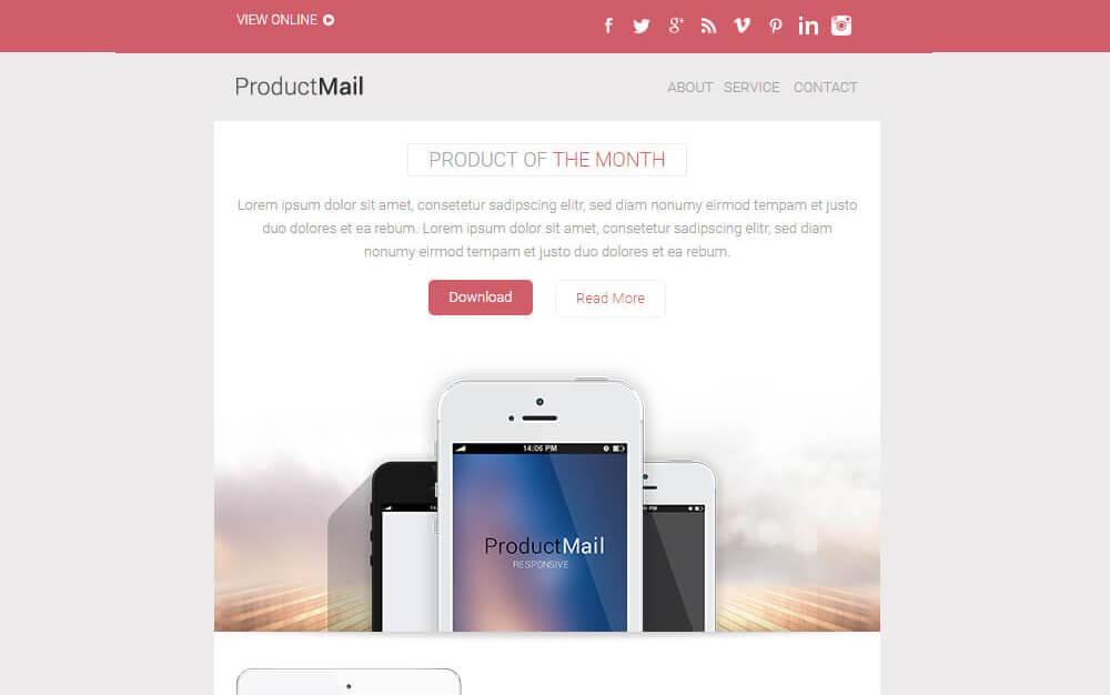 25 Modern Responsive Email Templates Design Shack