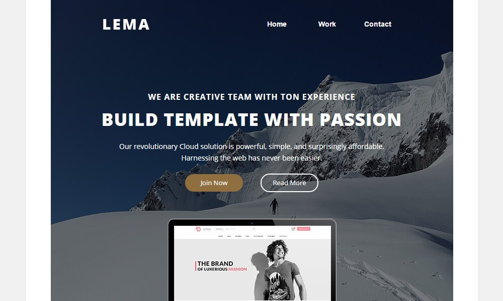 1-80 25+ Modern Responsive Email Templates design tips
