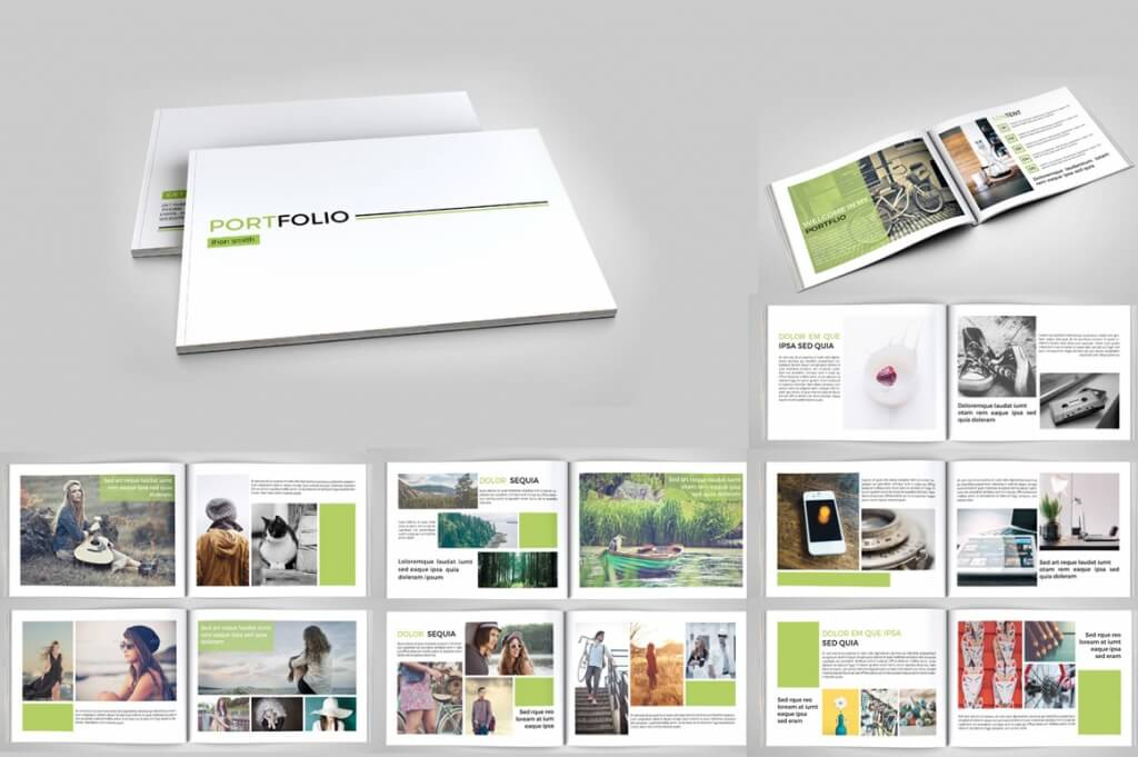 professional portfolio brochure template of 20 pages for a photography portfolio it will help you to visualize in a professional way your photos and