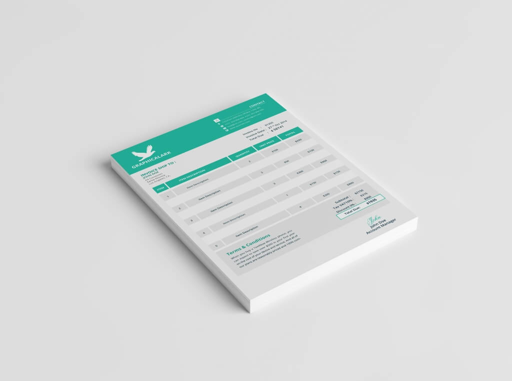 Modern Stationery Templates  Design Shack